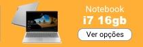 Notebook i7 com 16g para programadores